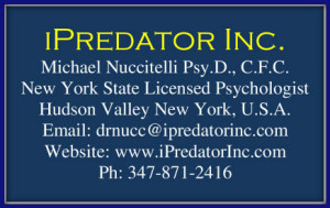 MICHAEL NUCCITELLI - IPREDATOR INC. - LICENSED PSYCHOLOGIST