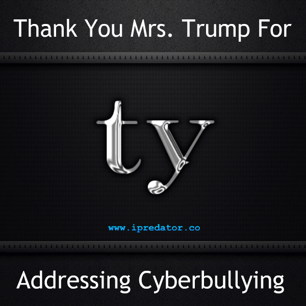 An Online Letter Thanking Mrs. Trump About Cyberbullying
