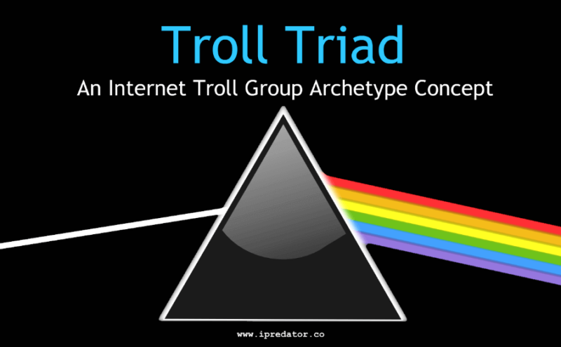 troll-triad-internet-troll-concept